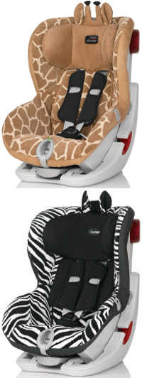 Der Kindersitz als Tier: Big Giraffe & Smart Zebra