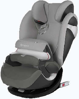 Cybex Pallas M Fix Farbe Manhatten Grey