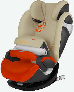 Cybex Pallas M Fix Farbe Autumn Gold