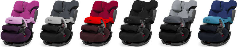 Cybex Pallas Farben des Kindersitzes
