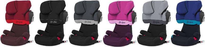 Farben des Kindersitzes