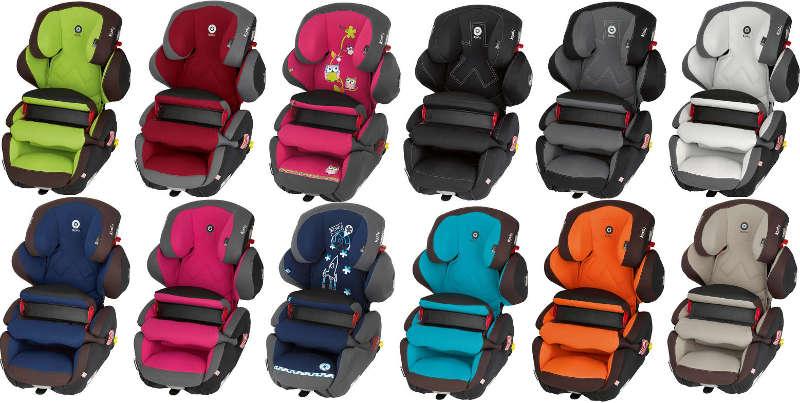 Farbvarianten des Kindersitz