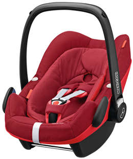 Maxi Cosi Pebble Plus in der Farbe Robin Red