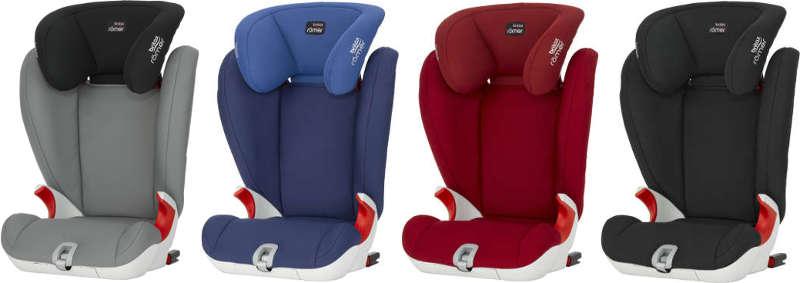 Kindersitz Farbvarianten