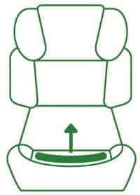 Wechselbarer Sitzbezug