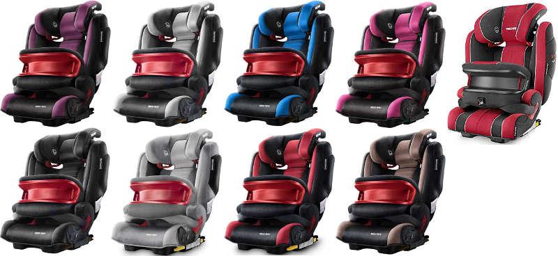 Recaro Kindersitz mit ISOFIX 9-36 kg
