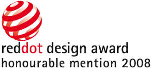 reddot desing award: honorrable mention 2008